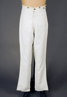 Gent's Linen Trousers, America, 1830-1850 - Lot 65 $5,750
