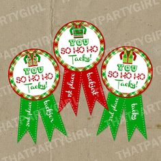 Ugly Sweater Awards:: 50 ugly sweater christmas party ideas.