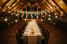 fun + rustic setting for a reception at Brush Creek Ranch