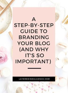As a blogger or entrepreneur, branding is essential. Creating a strong brand makes growing your blog easy and marketing a breeze. Check out my best tips for creating consistent visual branding across your blog and social media. You'll learn the importance of logo design, color palette, creating a mood board and more! Click through to read about how to brand your blog now and make sure to save this pin for others to read too! #onlinebusiness #entrepreneur #followback #startup