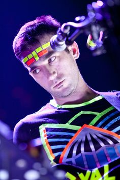Sufjan Stevens touring The Age of Adz - saw him playing in Berlin. Best concert so far.