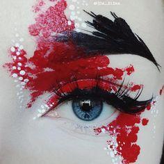 Makeup Dark Black Make Up 26 Trendy Ideas Makeup Fx, Artist Makeup, Makeup Inspo, Makeup Inspiration, Makeup Ideas, Prom Makeup, Face Makeup, Makeup Eyeshadow, Beauty Makeup