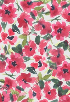 Textile / Surface Design by Pamela Gatens Cute Wallpaper Backgrounds, Pretty Wallpapers, Flower Wallpaper, Pattern Wallpaper, Iphone Wallpaper, Design Floral, Motif Floral, Flower Patterns, Print Patterns