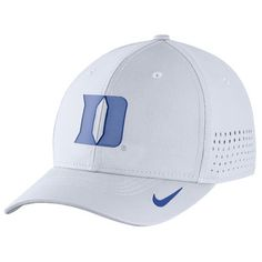 Duke Blue Devils Nike Sideline Vapor Coaches Performance Flex Hat - White 742db8bcb152