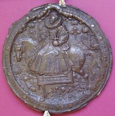 A beautifully-preserved example of Queen Elizabeth's Great Seal