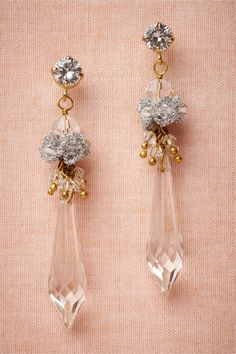 Snowmelt Earrings in Shoes & Accessories Jewelry at BHLDN | St Erasmus | $160
