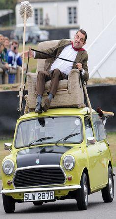 Rowan Atkinson - slow down cowboy..