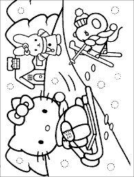 Winter Coloring Pages Free Online Printable Sheets For Kids Get The Latest Images Favorite To