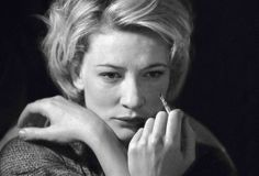 Cate BlanchettThe Lonely Road, Old Vic Theatre, 1985. © Simon Annand