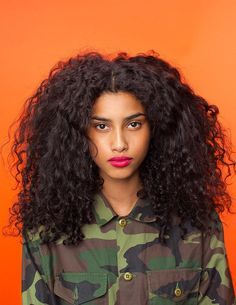 Your hair crush starts and ends with Imaan Hammam.