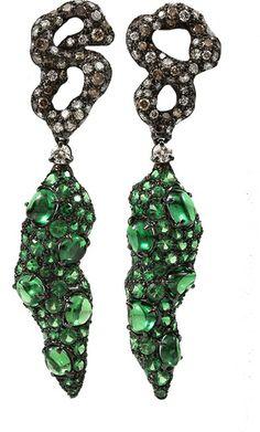 Arunashi Tsavorite Chile Earrings on shopstyle.com