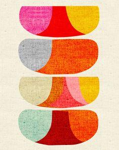 Atmosphere Art Print by Inaluxe Easyart.com
