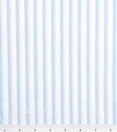 Nursery Baby Basic- Stripe Blue & nursery fabric at Joann.com