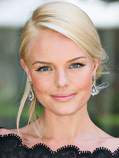 Kate Bosworth. Fresh faced // #skintox