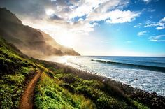 """When I go on vacation, I prefer to do nothing but sit on a beach with a drink in my hand, but on my last trip to Kauai, I ventured out with my boyfriend. We hiked up a mountain, sat with each other (with a glass of rosé—in a plastic cup, of course), and just stared at a beautiful waterfall for about an hour. It was magical."""" – Bobby Schuessler, Who What Wear Senior Editor"""