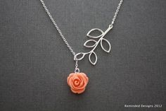 sweet lil rose necklace