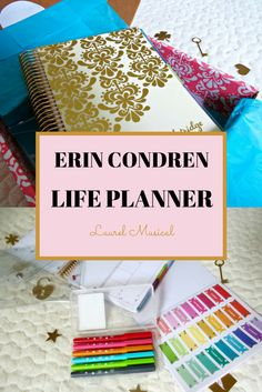 Laurel Musical's Erin Condren Life Planner - #college