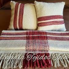Resultado de imagen para cojines a telar Sewing Pillows, Xmas Crafts, Home Deco, Loom, Shawl, Textiles, Weaving, Blanket, Fabric