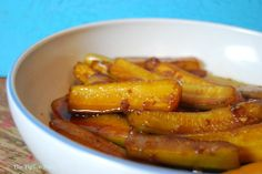 Asian Marinated Zucchini