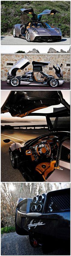 Pagani Huayra, $1.2 million This thing is insaaaaaaane.