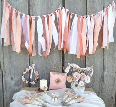 Beach Wedding Package  Rustic  Peach White by AlteredEcoDesigns, $210.00