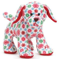 WEBKINZ SNOWFLAKE PUP New with Tag Oct 2012 Release Super Cute