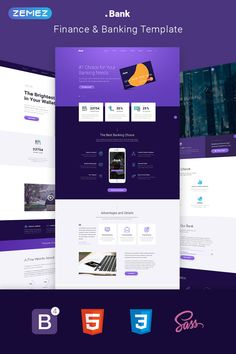This Banking & Financial Multipage Template is a fast and reliable template designed for financial resources. Finance Bank, Finance Logo, Financial Website, Post Bank, Banks Website, Web Design, Graphic Design, Buy Cryptocurrency, Finance Quotes