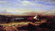 "New artwork for sale! - "" The Last Of The Buffalo by Albert Bierstadt "" - http://ift.tt/2oeP1Ex"