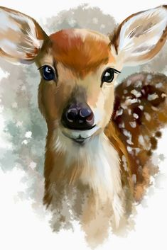 Are You Presently Trying To Locate Watercolor Arts Ideas ? Explore Our Site And Enjoy Our Personal Watercolor Arts Album. Are You Presently Trying To Locate Watercolor Arts Ideas ? Explore Our Site And Enjoy Our Personal Watercolor Arts Album. Watercolor Artwork, Watercolor Animals, Acrylic Painting Animals, Watercolor Deer, Watercolor Paintings For Beginners, Watercolor Art Lessons, Easy Watercolor, Acrylic Paintings, Animal Paintings