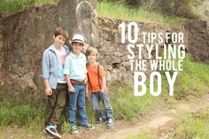 10 Tips for Styling the Whole Boy. Thinking of you, Erin Jamison. Little Man Style, Little Boys, My Style, Style Blog, Love My Kids, Baby Love, Cute Kids, Little Boy Fashion, Kids Fashion