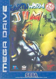 Earthworm Jim 1 - Sega Megadrive / Genesis At the time, unlike any other game out there, mad great fun and animation