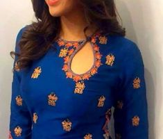 25 New Kurti Neck Designs For 2018 In India