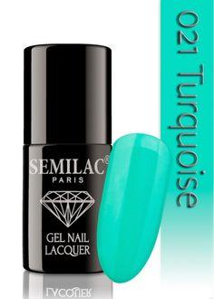 Semilac 021 Turqoise UV&LED Nagellack. Auch ohne Nagelstudio bis zu 3 WOCHEN perfekte Nägel!