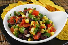 Black Bean, Corn, and Salsa Dip--Weight Watchers! http://www.yummly.com/recipe/Black-Bean_-Corn_-And-Salsa-Dip_weight-Watchers-Recipezaar