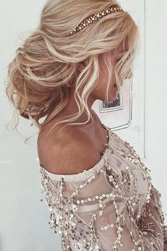 30 Wedding Hairstyles For Long Hair From Ulyana Aster ❤ wedding hairstyle from ulyana aster messy blond hair ulyana aster ❤ See more: http://www.weddingforward.com/wedding-hairstyle-from-ulyana-aster/ #wedding #bride #weddinghairstyles