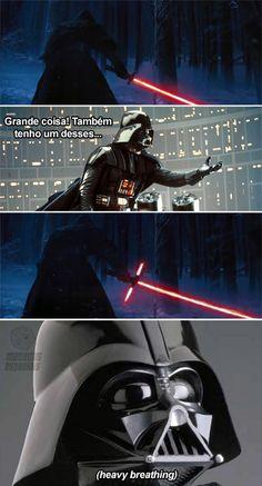 Vader pira.