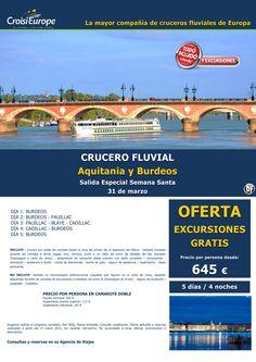 Crucero fluvial por Burdeos y el Garona - oferta exc. GRATIS - sal. Semana Santa 31marzo (5D/4N) ultimo minuto - http://zocotours.com/crucero-fluvial-por-burdeos-y-el-garona-oferta-exc-gratis-sal-semana-santa-31marzo-5d4n-ultimo-minuto-5/
