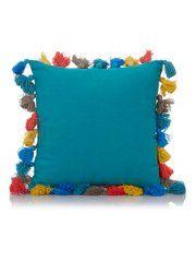 George Home Tassel Cushion 30x30cm