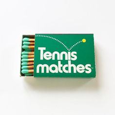 Game, Set, Tennis matches. 💛 1975
