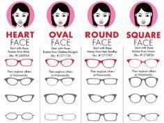 glasses frames for face shape - Buscar con Google