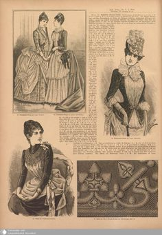 64 - Nr. 8. - Illustrierte Frauenzeitung - Seite - Digitale Sammlungen - Digitale Sammlungen