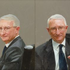 Paul Brason – Dr John Hood, Vice Chancellor of Oxford University. Oil on two panels. 51 x 71 cm. Royal Society, See Images, Painters, Schools, Oxford, University, Portraits, Oil