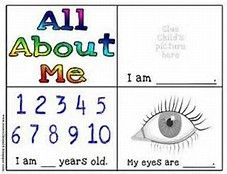 all about me theme for preschoolers - Bing Images