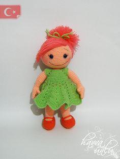 PATRÓN - Lucia Doll (ganchillo, amigurumi)