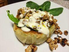 Ada en la Cocina: Caracolas Turkas con Pavo y Salsa de Yogur.