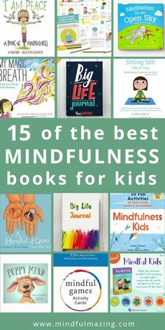 Wondering how to teach your kids about Mindfulness? You'll love these mindfulness books for kids to teach them strategies and skills for calming down, regulating their emotions, focusing, sleeping better, and developing kindness and compassion. Happy (and Teaching Mindfulness, Mindfulness Books, Mindfulness For Kids, Mindfulness Activities, Mindfulness Benefits, Mindfulness Practice, Mindful Activities For Kids, Mindfulness Therapy, Baby Activities