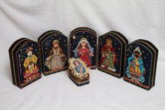 Kelly Clark needlepoint nativity finished