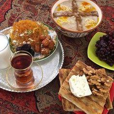 Ramadan in Iran Iran Travel, Persian Culture, Food Tasting, Ramadan, Breakfast, Ethnic Recipes, Chai, Travel Guide, Travelling