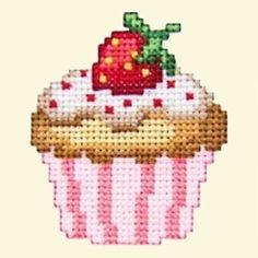 Cupcakes Cross Stitch Machine Embroidery Designs in Crafts, Needlecrafts & Yarn, Embroidery | eBay