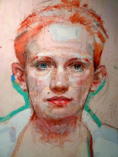 bofransson: H. Craig HANNA LOVE the use of color in this portrait!
